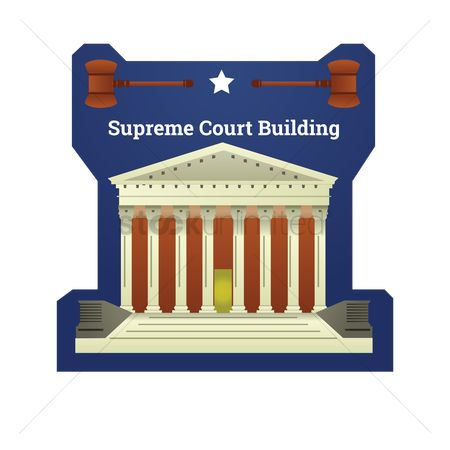 房屋地标 : Supreme court building