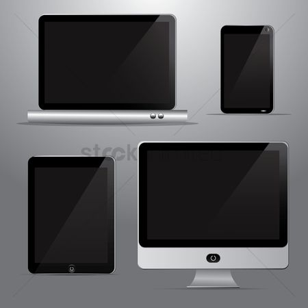 图标 : Technological devices