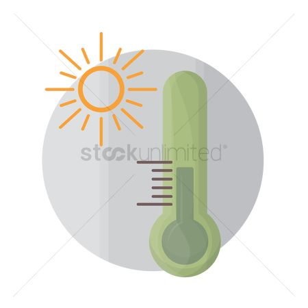 环境 : Temperature icon