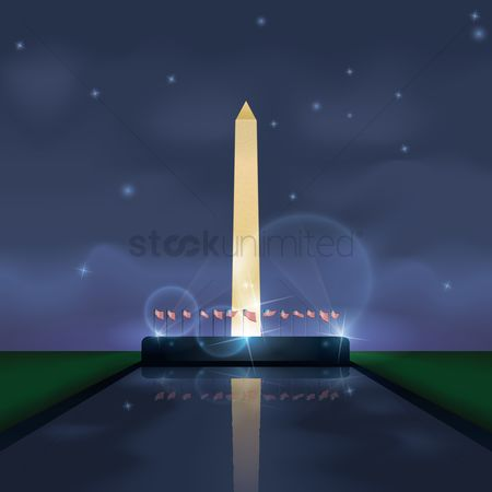 波 : The national mall
