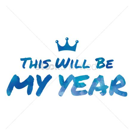 动机 : This will be my year