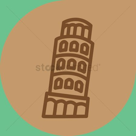 房屋地标 : Tower of pisa