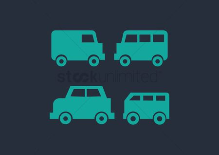 商业 : Transport icons