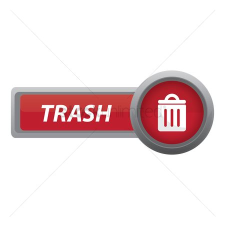 垃圾 : Trash button