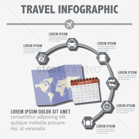 数据 : Travel infographic
