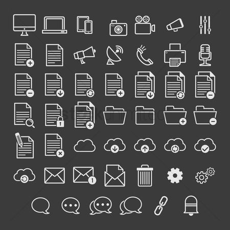 垃圾 : User interface icons