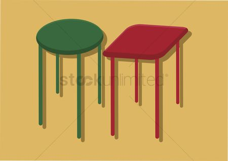 平方 : Vector of chairs