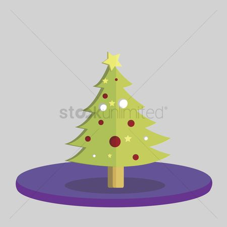 庆典 : Vector of christmas tree
