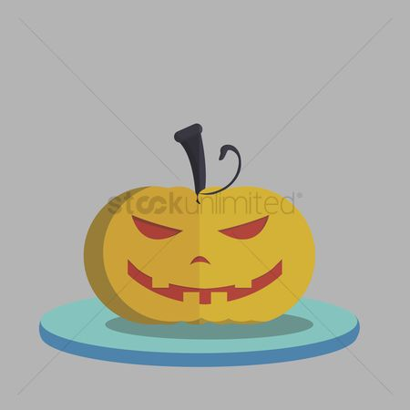 庆典 : Vector of halloween pumpkin