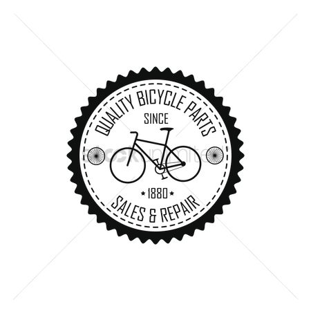 色带 : Vintage bicycle label