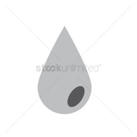环境 : Water droplet icon