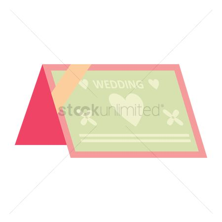 请帖 : Wedding invitation