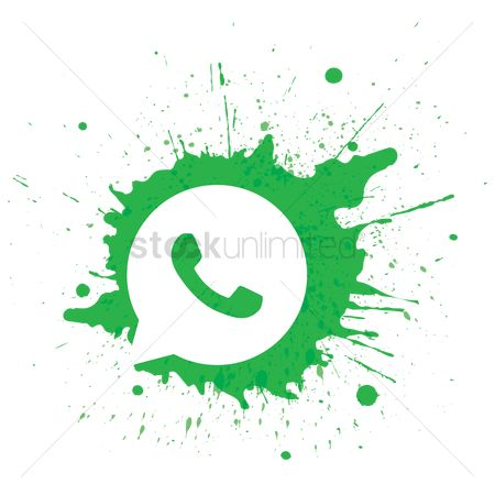 花色 : Whatsapp logo