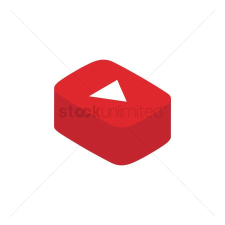 标志 : Youtube logo