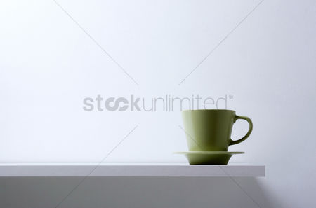 食物 : Coffee cup and saucer
