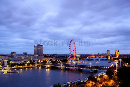 房屋地标 : Thames view eastwards