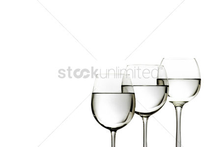食物 : Three glasses of water